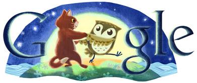 Edward Lear's 200th Birthday Google Doodle