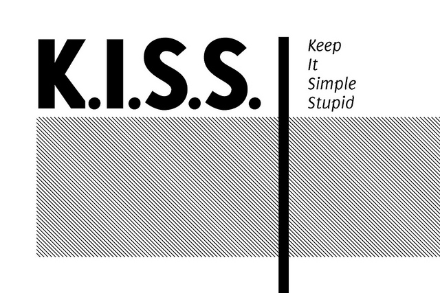 Keep It Simple Stupid - Image by Kristian Bjornard