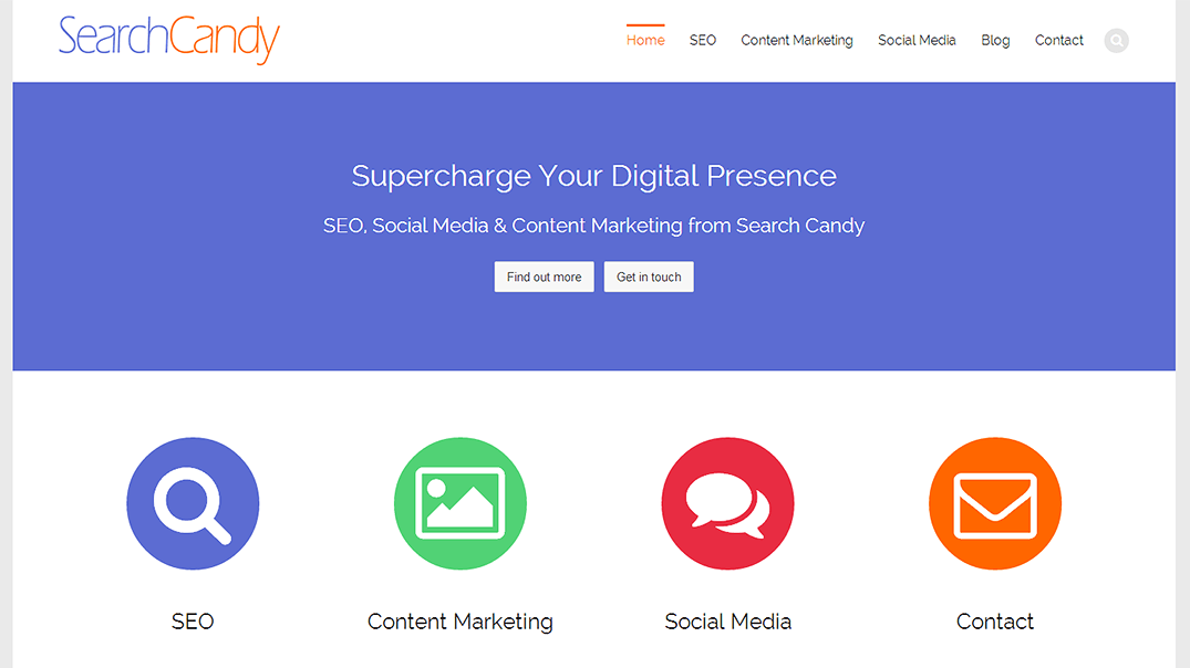 Search Candy - New Website