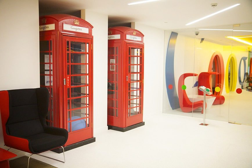 Google's London office - Photo by Marcin Wichary