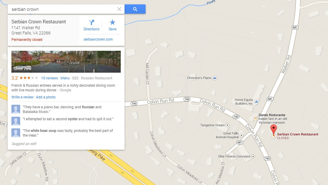 Business Owner in US Takes Google To Court For Google Maps Listing Error