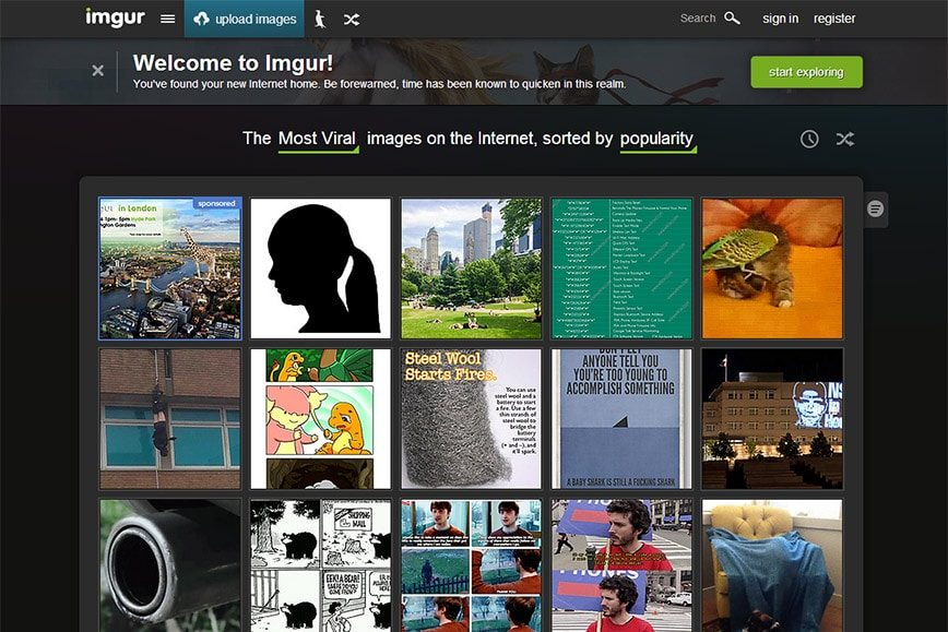 Imgur Relaunch - New Design Out of Beta, Highest Traffic in Site History