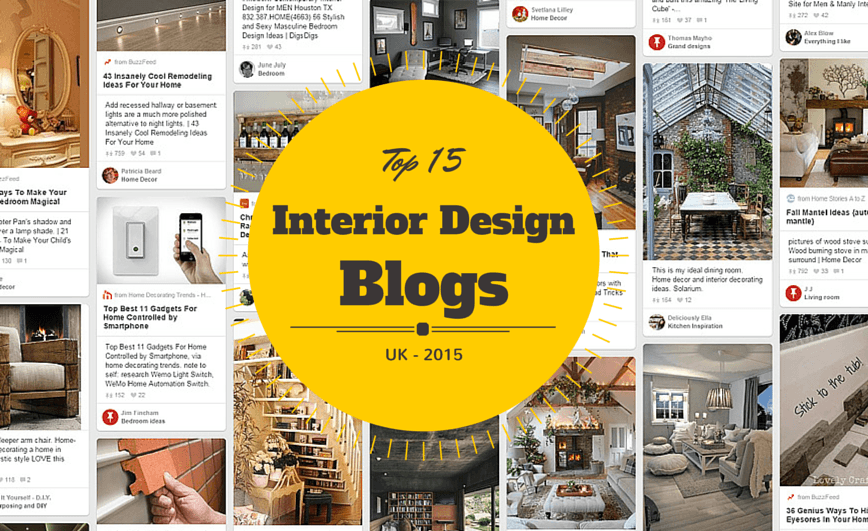 Top 15 UK Interior Design Blogs 2015 List